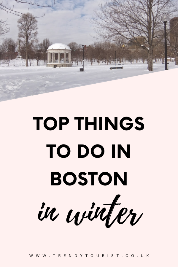 Top Things to Do In Boston in Winter