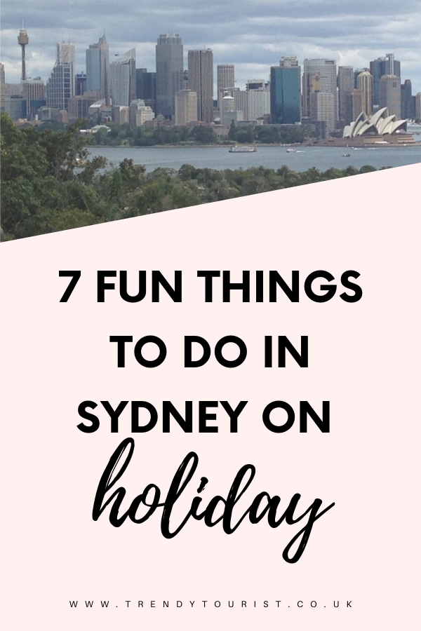 7 Fun Things to Do in Sydney on Holiday