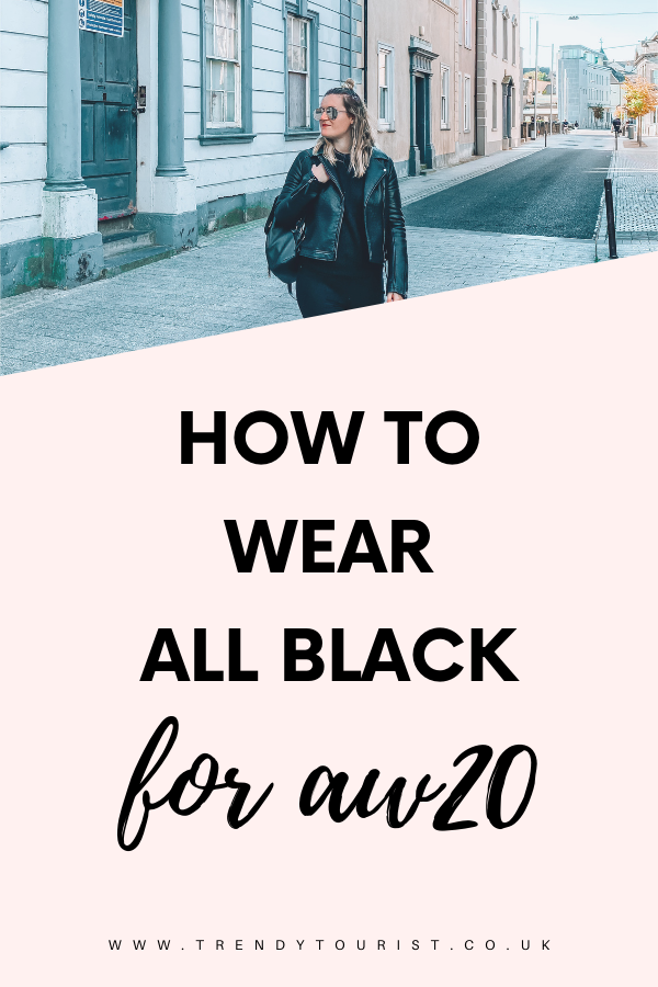 How to Wear All Black for AW20