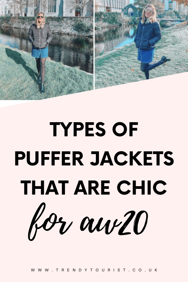 Types of Puffer Jackets That Are Chic for AW20