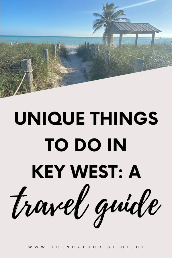 Unique Things to Do in Key West: A Travel Guide