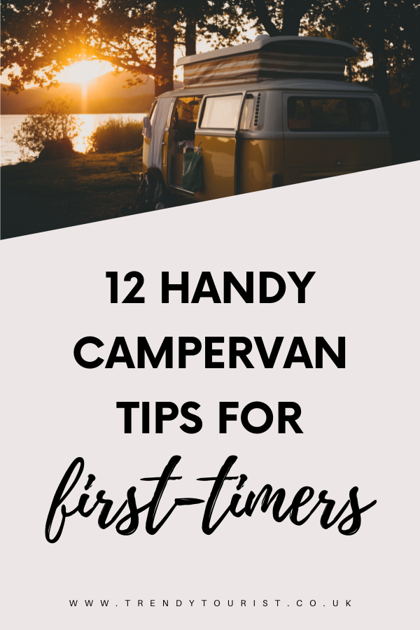 12 Handy Campervan Tips for First-Timers